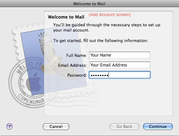 How configure MAC Mail with IMAP - Smartermail